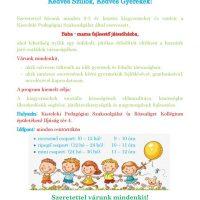 Baba-mama fejlesztő játszóház-Plakát
